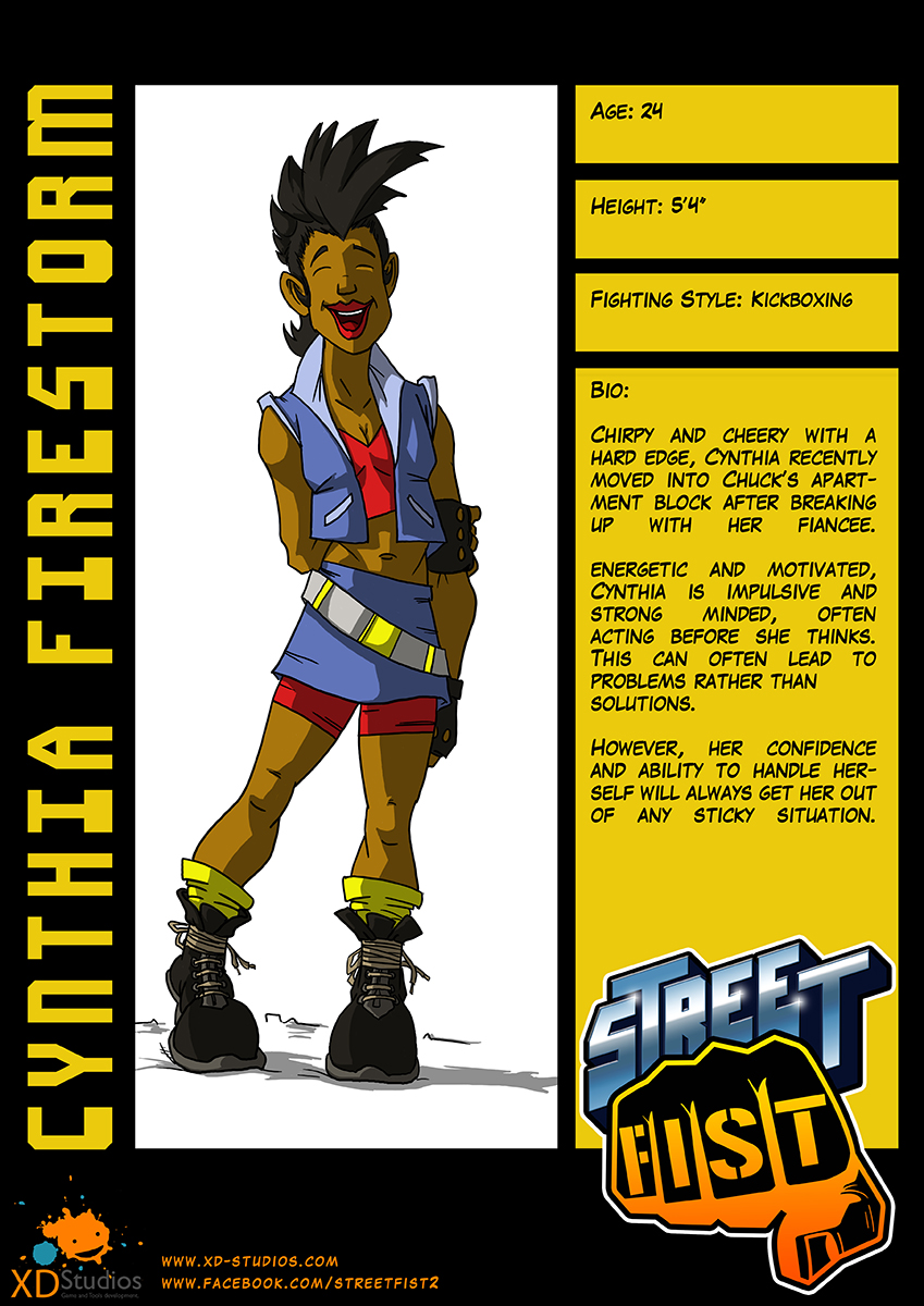 Street Fist - Cynthia Firestorm